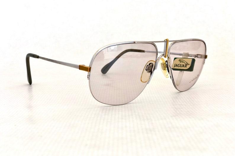 a1c1e5a8ac3d Jaguar 481 Vintage Glasses with 18K Solid Gold Details New Old | Etsy