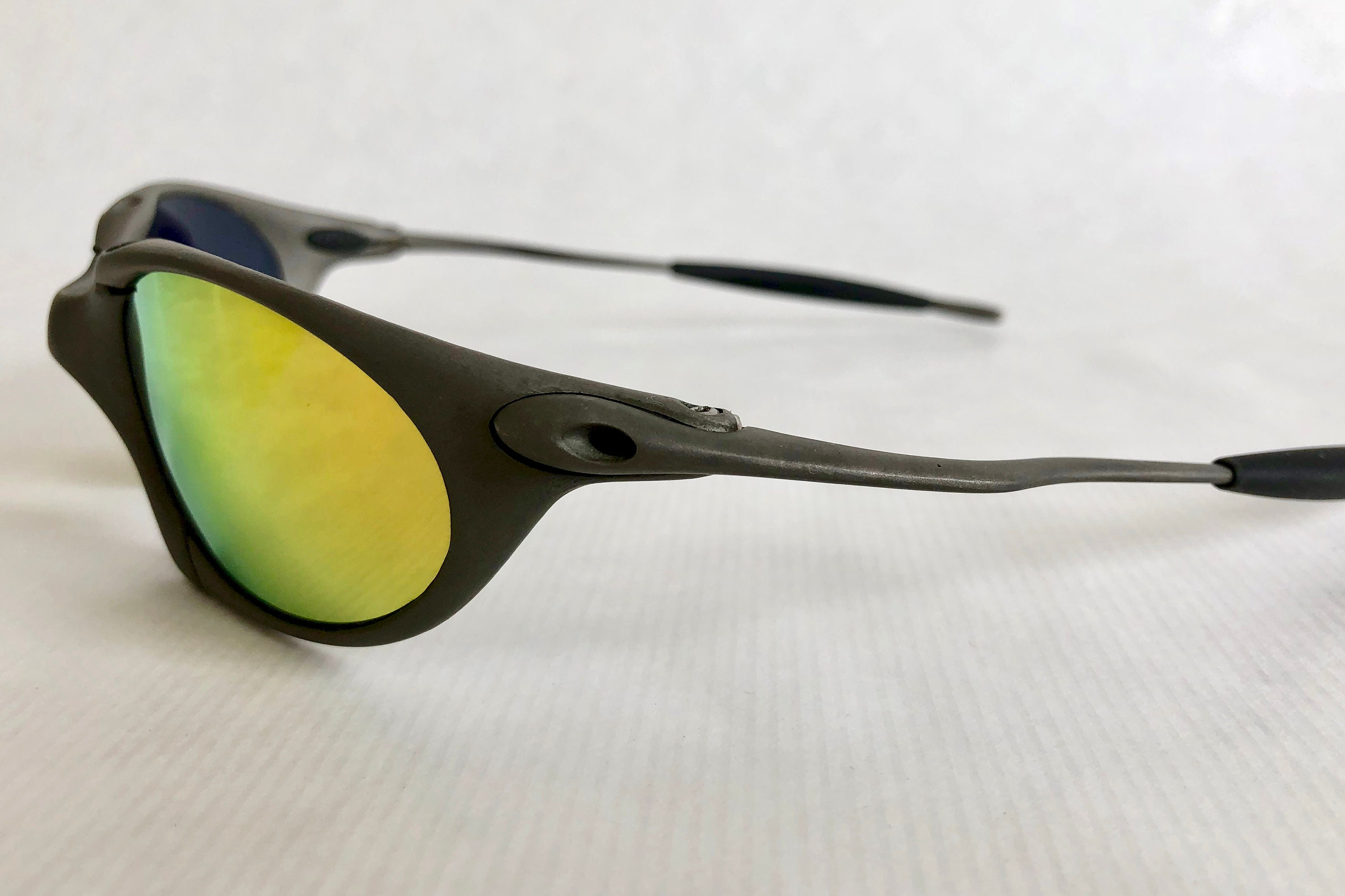 673e185e38 Shipping to   Free. Calculate Shipping. Loading Add to cart. Ask a  question. Details    Shipping   Policies. Oakley X Metal Romeo 1 Plasma  Vintage ...