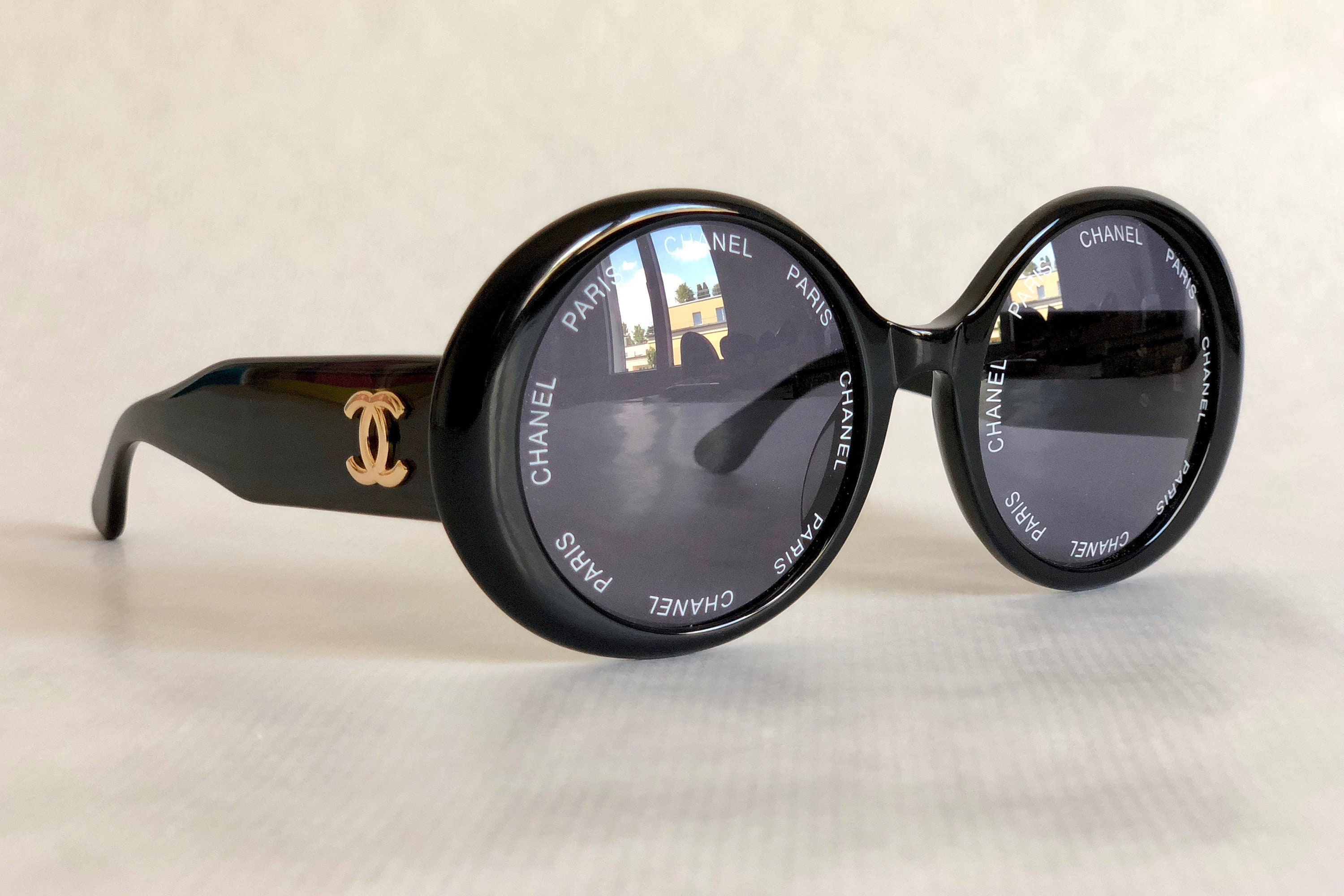 cc3ed32997646 CHANEL 01949 94305 Vintage Sunglasses New Old Stock including ...