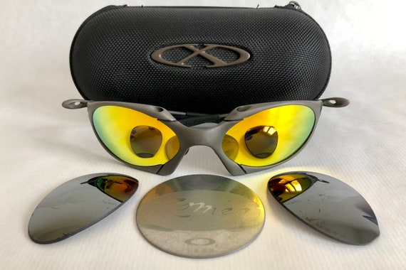 1f9ab9f5e ... italy oakley x metal romeo plasma vintage sunglasses including x etsy  b246a 85790