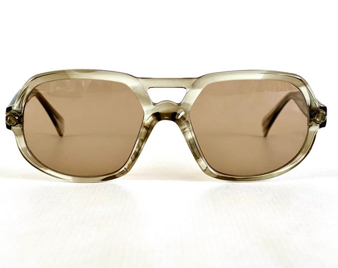 Vintage 1970s Serge Kirchhofer Mod. 27 Sunglasses – Made in Austria – New Old Stock