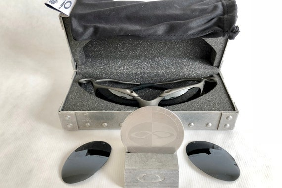 186c2bec74 ... promo code for oakley x metal romeo 1 vintage sunglasses new old stock  etsy 0a81f 6cd39