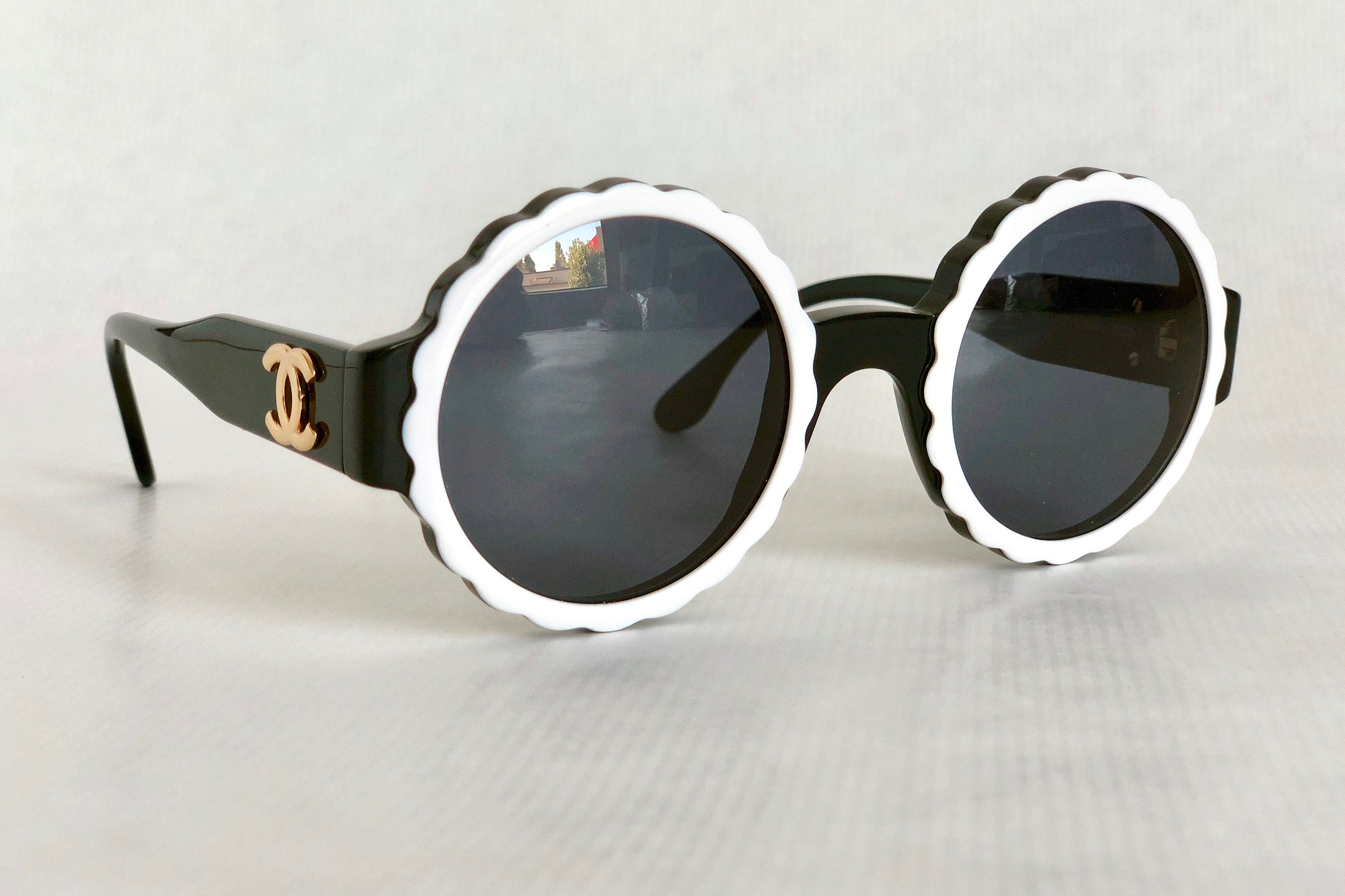 85d34fa9ab585 CHANEL 03524 C0229 Vintage Sunglasses New Old Stock including ...