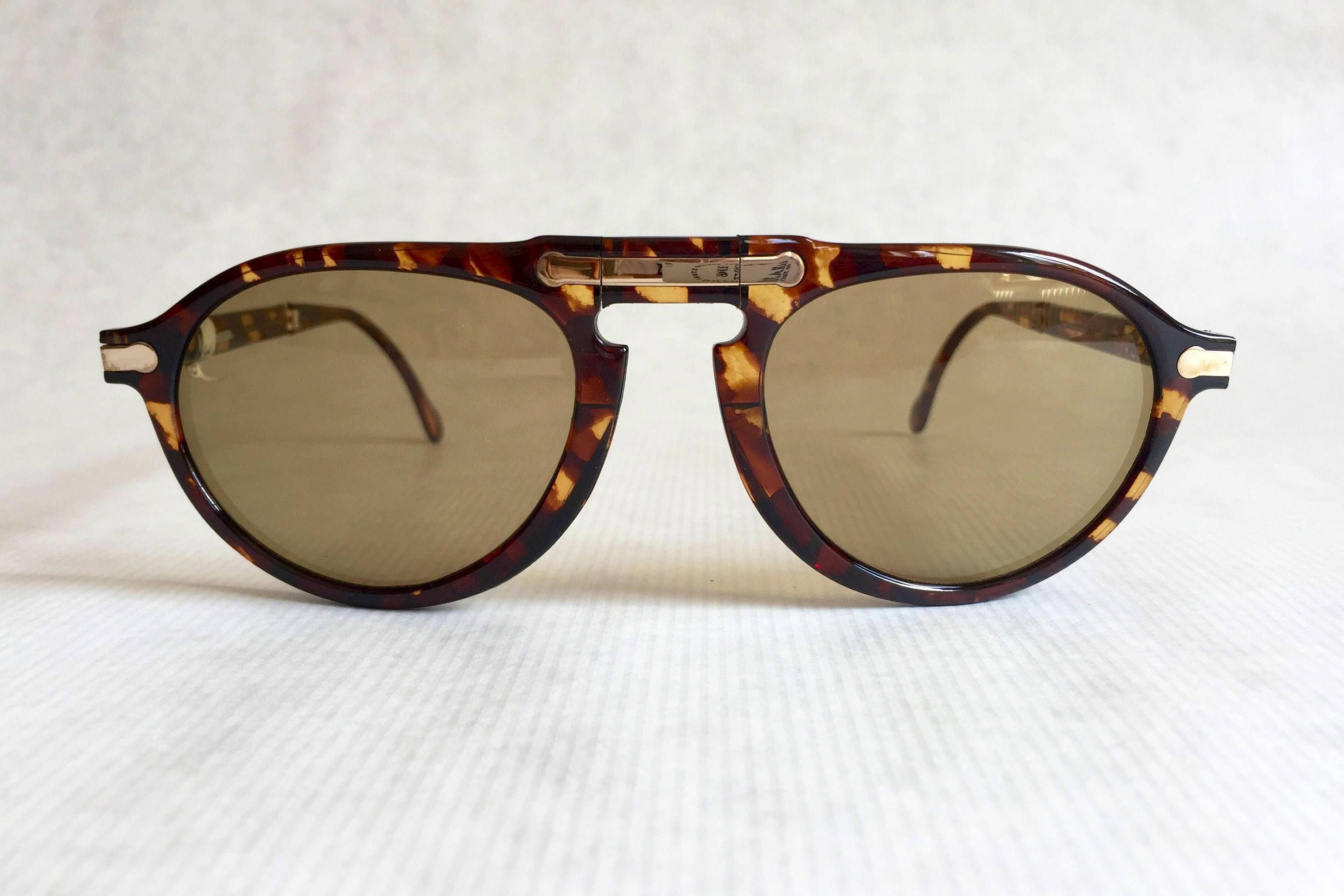 6f8d292a289 Hugo Boss by Carrera 5153 Folding Vintage Sunglasses - New Unworn Deadstock
