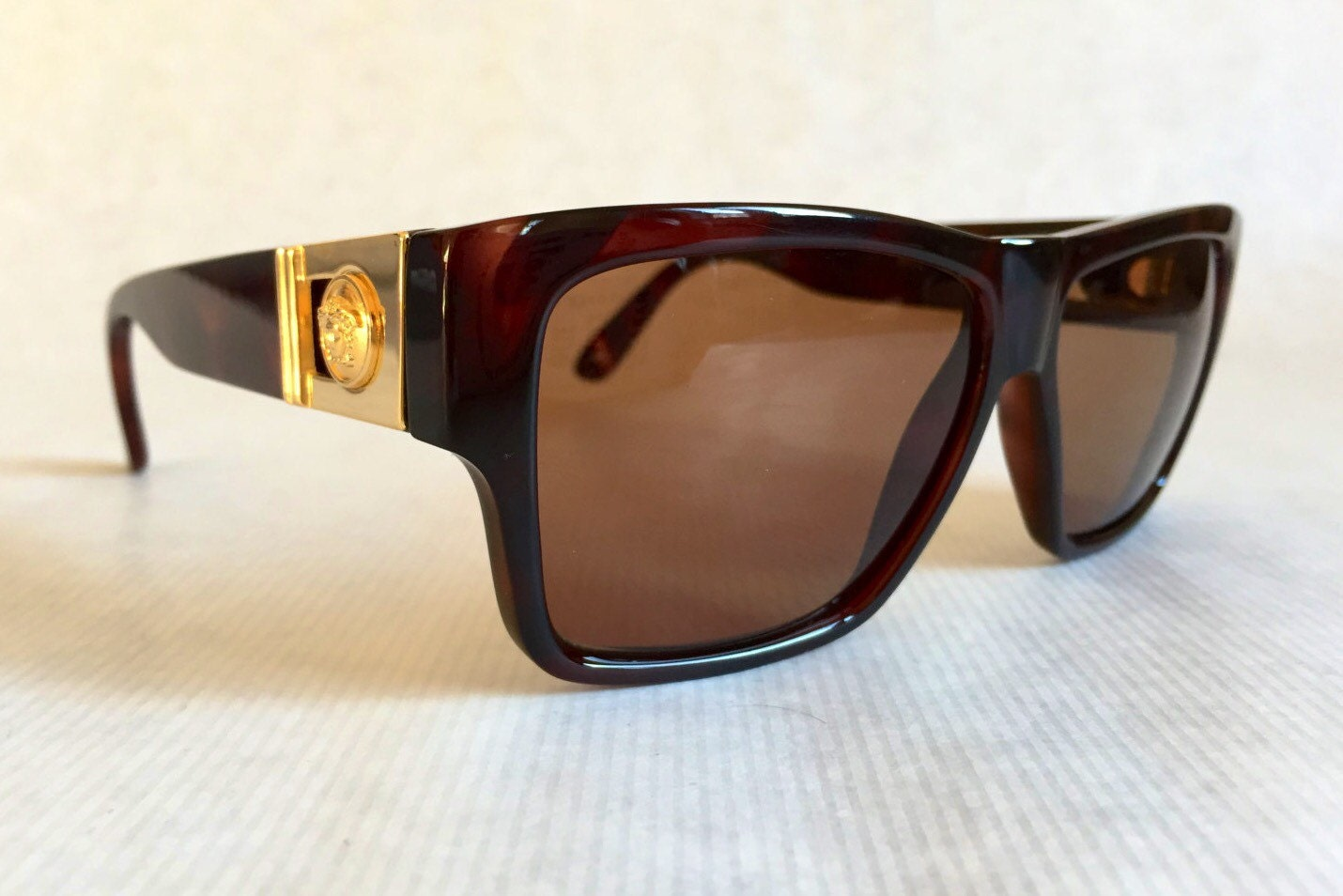 b459693a55 Gianni Versace 372 A Col 900 Vintage Sunglasses New Unworn Deadstock with  Original Versace Case. gallery photo ...