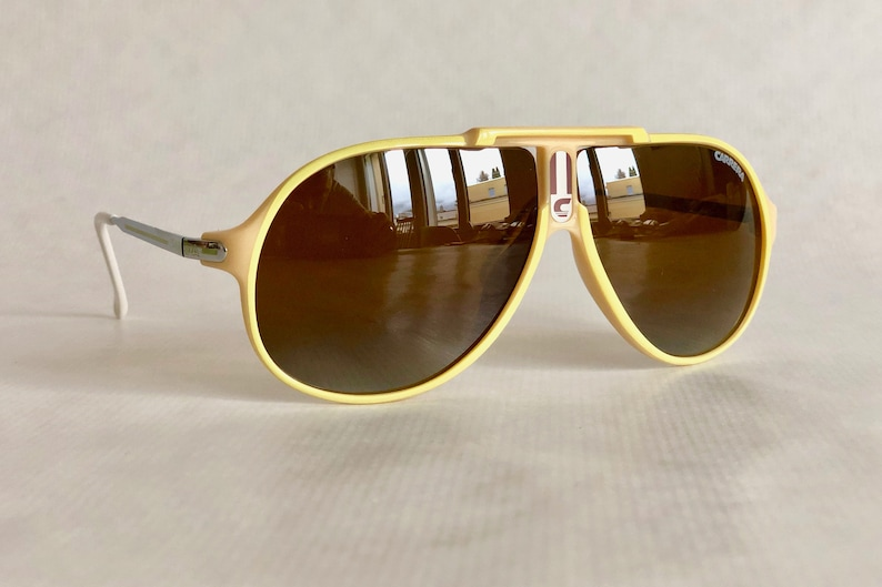 5acb4f2edd99 Carrera 5590 40 Vintage Sunglasses New Old Stock Made in | Etsy
