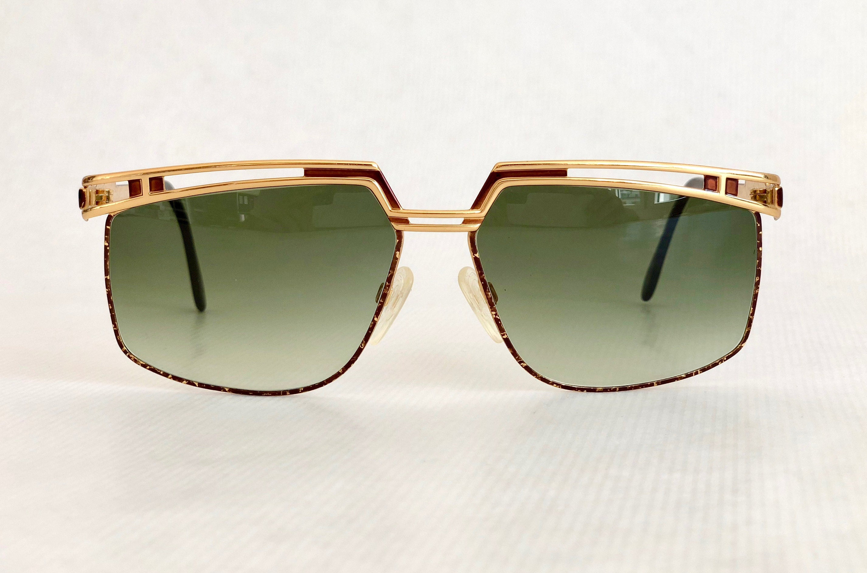 9cd440c92c4c Cazal Mod 957 Col 33 Vintage Sunglasses New Unworn Deadstock