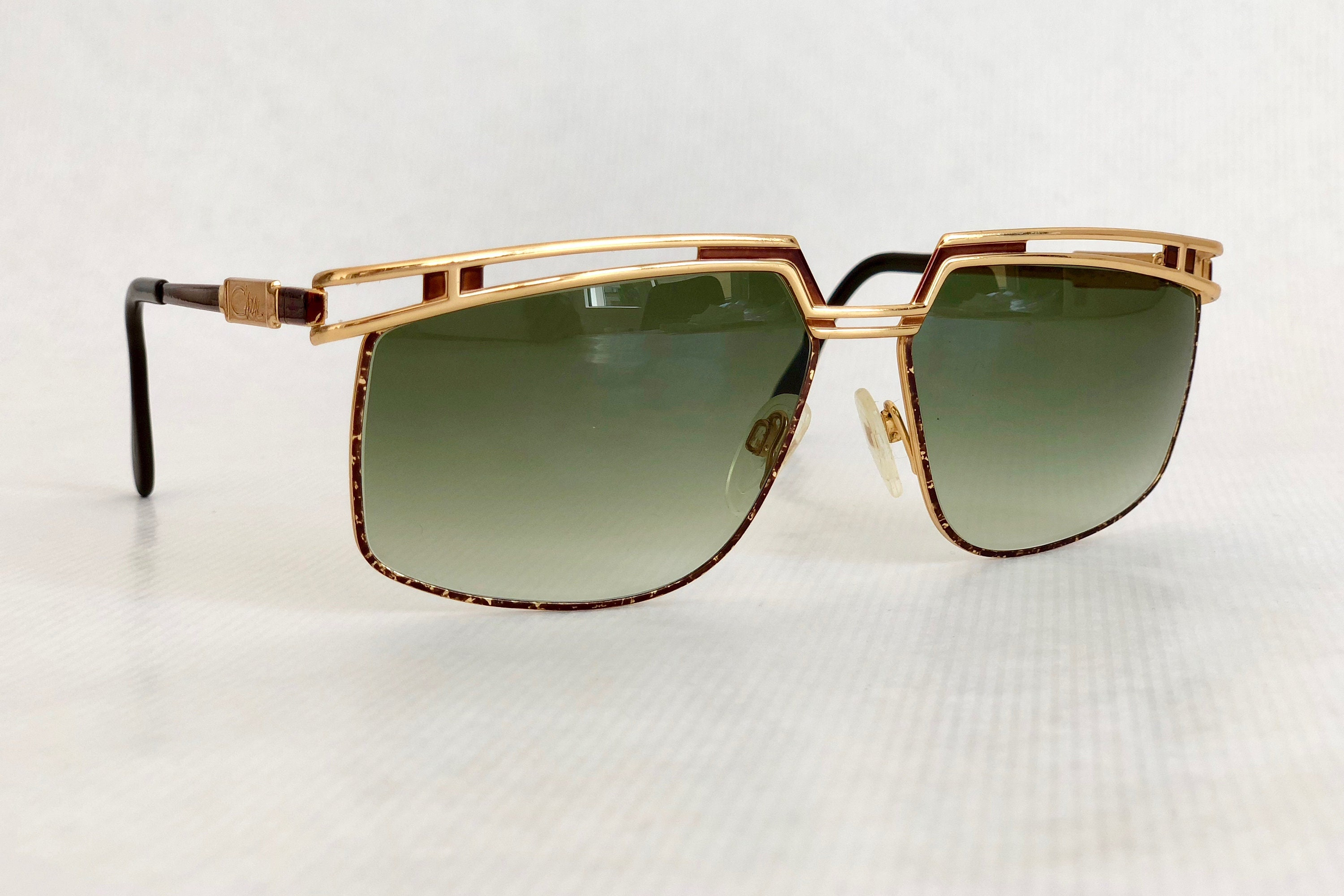 77738b1065e1 Cazal Mod 957 Col 33 Vintage Sunglasses New Unworn Deadstock. gallery photo  ...