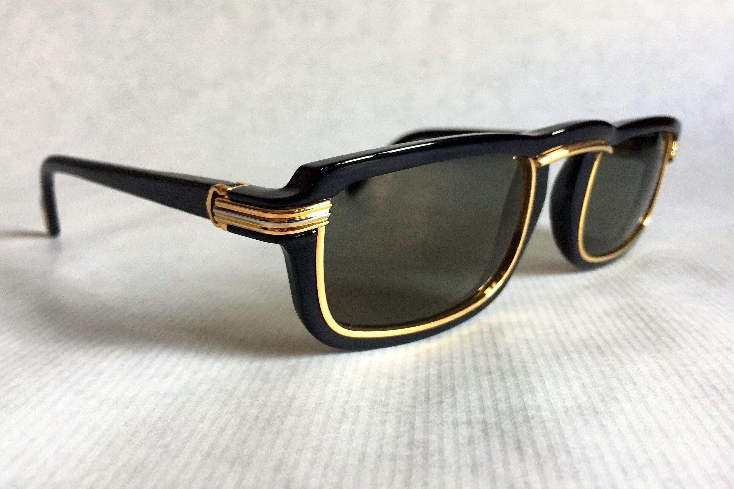 5ff8e8bab1b6 Cartier Vertigo Vintage Sunglasses - Full Set - New Old Stock. gallery  photo ...