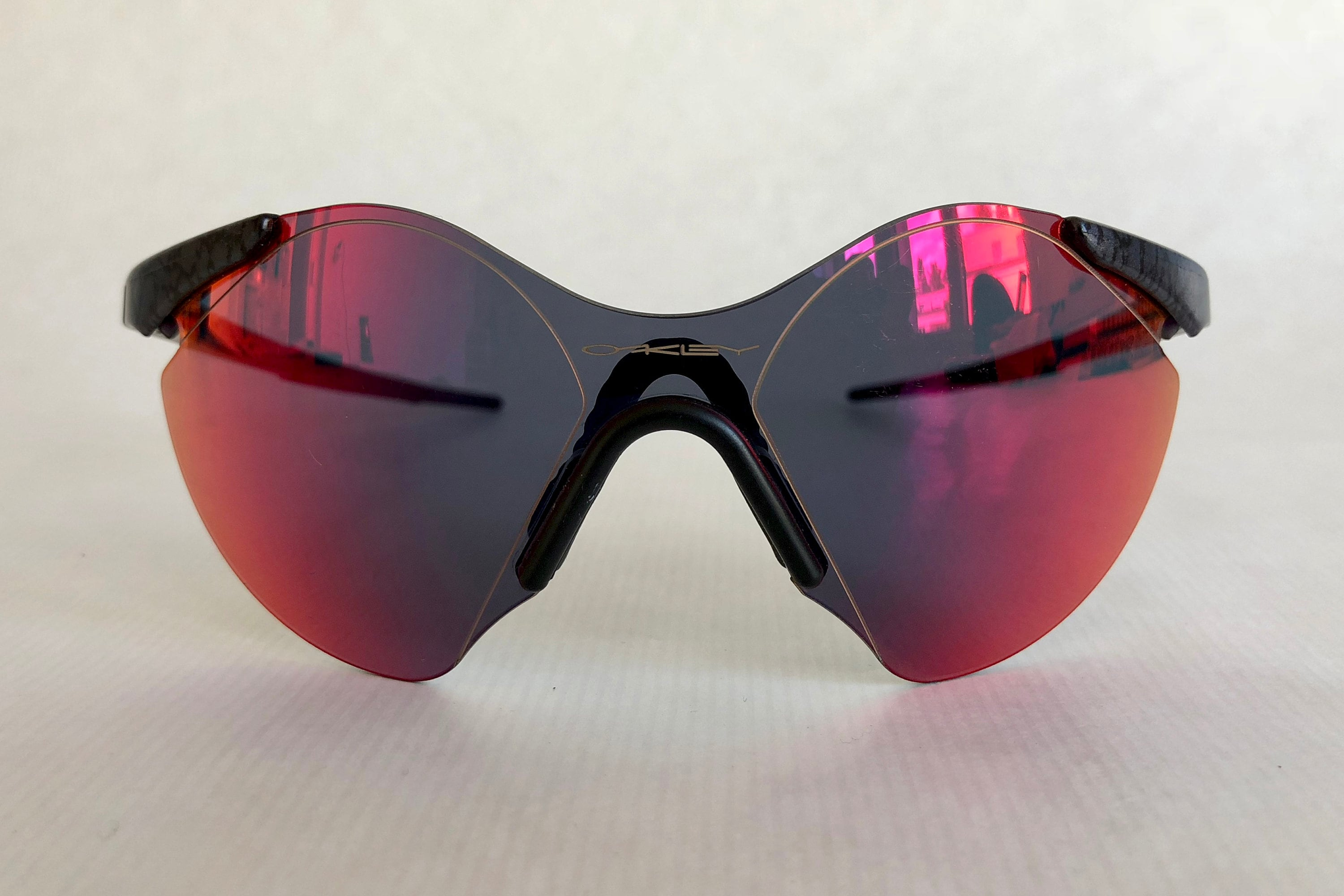 4117ca063ca59c Oakley Sub Zero #6 Planet X Positive Red Iridium Vintage Sunglasses New Old  Stock including Softpouch