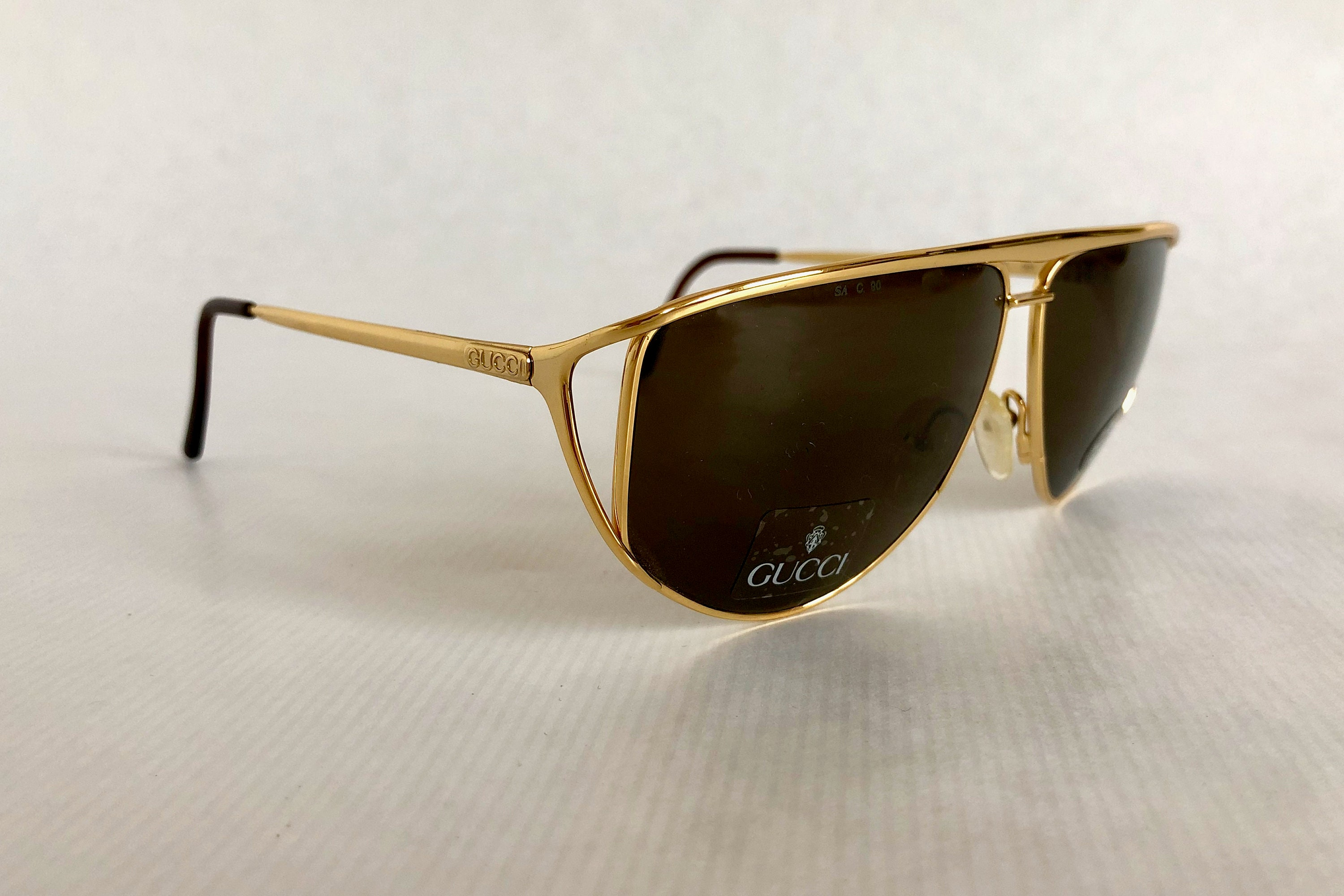 47a12aa60c GUCCI GG 2233 S Vintage Sunglasses New Old Stock including Case. gallery  photo gallery photo gallery photo ...