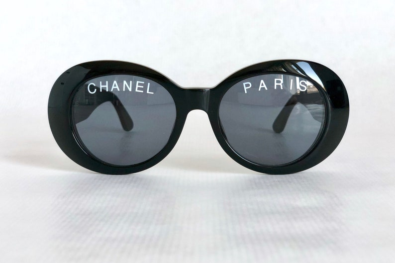 7183be7f5ef CHANEL 01947 94305 Vintage Sunglasses New Old Stock including