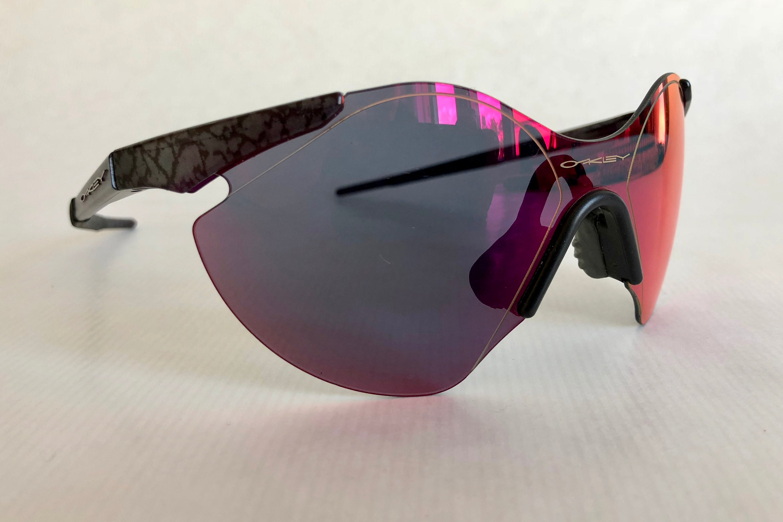 54978e6252092 Oakley Sub Zero  6 Planet X Positive Red Iridium Vintage Sunglasses ...