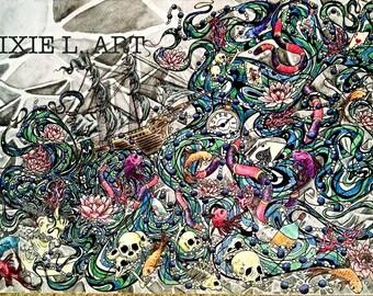 Sea Nymph #001