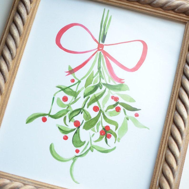 Mistletoe Art Print image 0