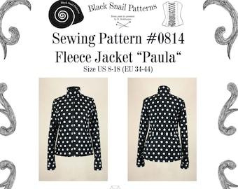 e7cd0e7a5a Jacket Fleece Sewing Pattern  0814 PDF Download Size US 8-30 (EU 34-56)