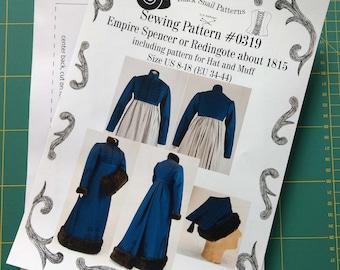 Paper pattern 1790-1820