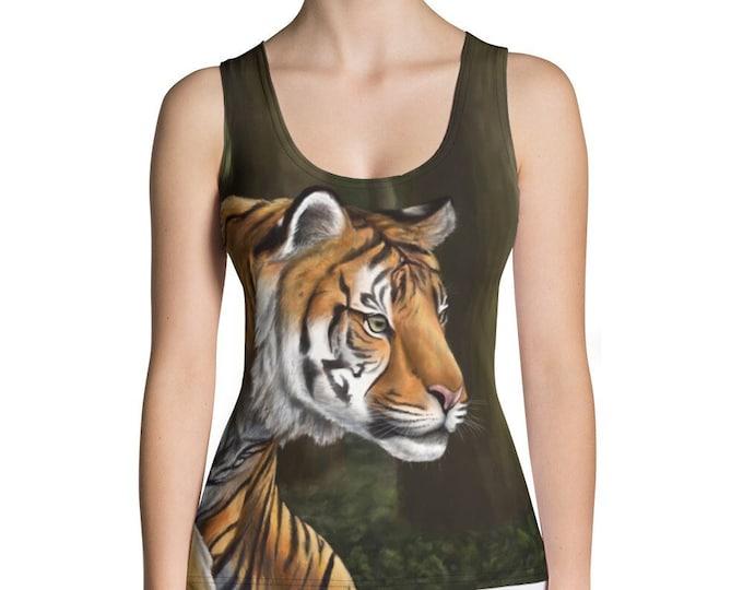 Maneater Of Pelakat (Sumatran Tiger, SCTP) - Tank Top