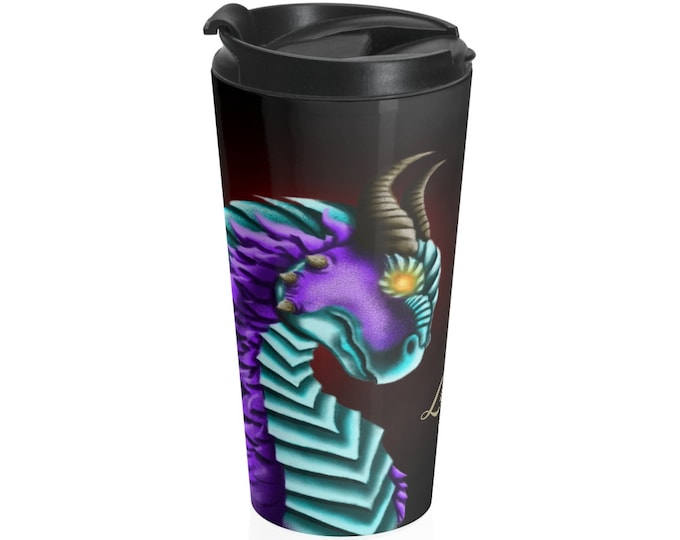 Of Ice & Fire - Travel Mug (15oz, Stainless Steel)