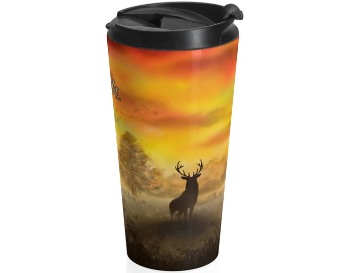 Into The Mist - Travel Mug (15oz, Stainless Steel)