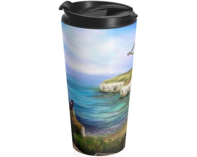 North Landing - Travel Mug (15oz, Stainless Steel)