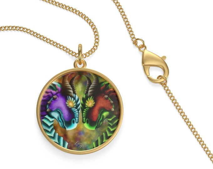 Inferno (Dragons) - Necklace