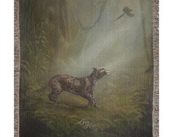 Clouded Mystery (SCTP) - Woven Throw Blanket