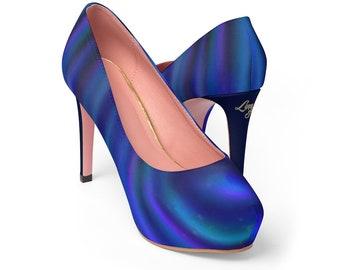 Women's Platform Heels - Water