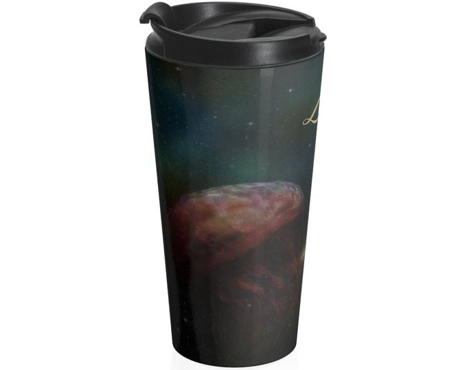 Jellyfish In The Sky - Travel Mug (15oz, Stainless Steel)