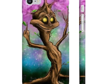 Terrence Tree - Slim iPhone Case