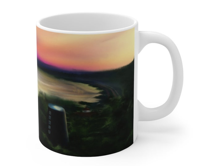 View From The Humber - Mug