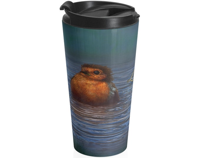 British Winter - Travel Mug (15oz, Stainless Steel)