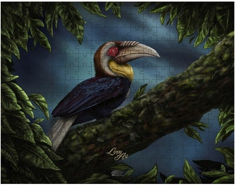 Wreathed Hornbill (SCTP) Jigsaw Puzzle