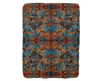 Paint - Sherpa Fleece Blanket