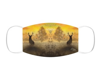 Into The Mist - Snug-Fit Polyester Face Mask