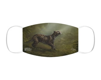Clouded Mystery - Snug-Fit Polyester Face Mask