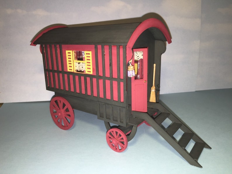 Gypsy Caravan 1/12th scale Kit Dolls house one inch scale kit