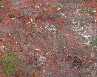 Stein rot - Plane Foto Backdrop Hintergrund Produktfotografie Unterlage, Lebensmittel Food Fotografie, Flatlay DIY Photographie Fotobackdrop