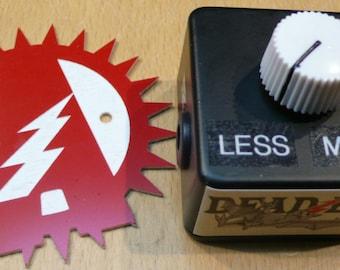 "Alchemy Audio ""Dead Bat"" Dying 9 Volt Battery Simulator Guitar Effect Pedal Voltage Sag"