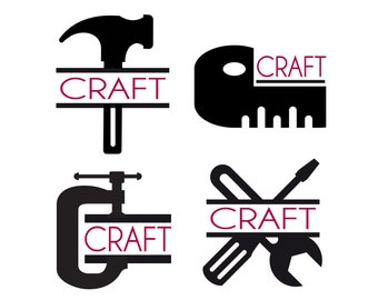 Crafting Clipart Tools Svg Tools Clipart Sewing Tools Etsy