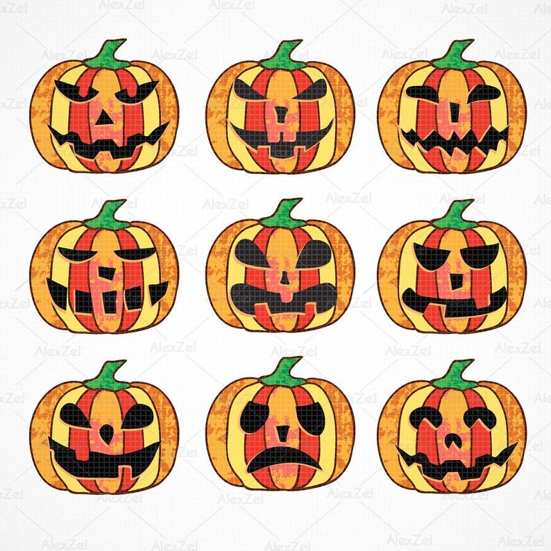 Halloween Pumpkin Png Clipart.Pumpkins Faces Pumpkins Digital Clipart For Halloween And Halloween Pumpkin Clipart From Halloween Vectors Pumpkins Clip Art And Pumpkin Png