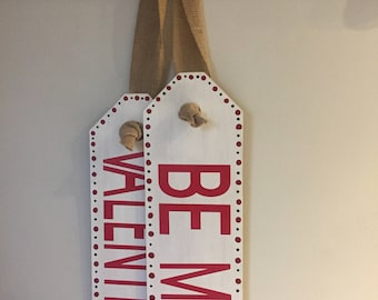 Be My Valentine Tags