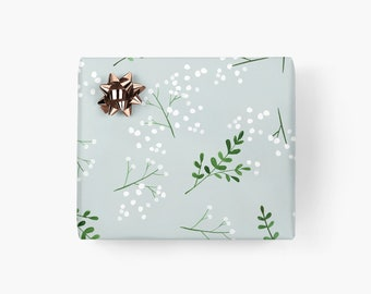 Gift wrapping paper / BERRIES NO. 2 / gift sheets with berries, beautiful gift wrapping paper for men, for best friend, birthday, Christmas