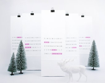 Advent Calendar / Tag me