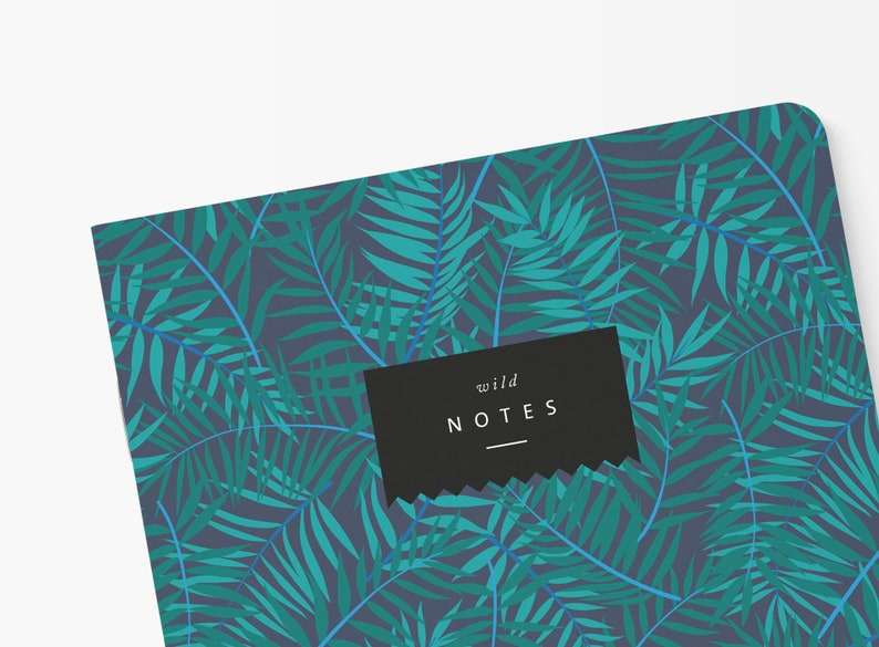 Notebook A5 Jungle Stationery Gift Notebook Paper Notepad Etsy