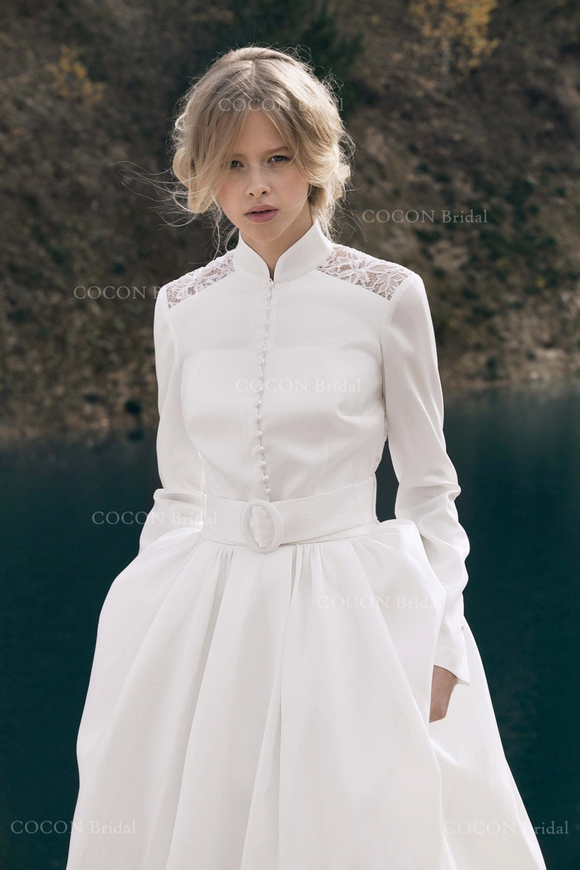 a893177ac49fd Winter Wedding Dress Designer Wedding Dress Gown Modern