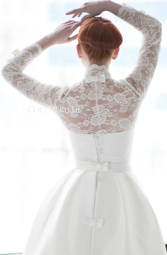 Wedding Dresses Bolero.Wedding Dress Designer Wedding Dress Gown Gown With Bolero Lace Long Sleeve Wedding Dress Modern Wedding Dress Cayenne