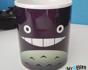 Totoro inspired Ceramic Coffee Mug, My Neighbour Totoro Mug