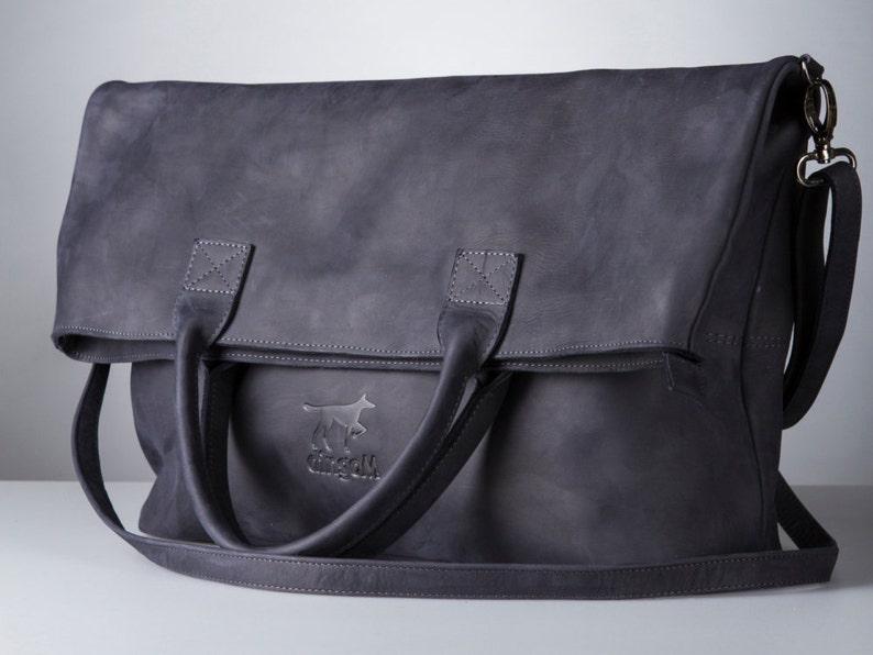 0ca2e4fcfc Large foldover purse bag with long handle long tote