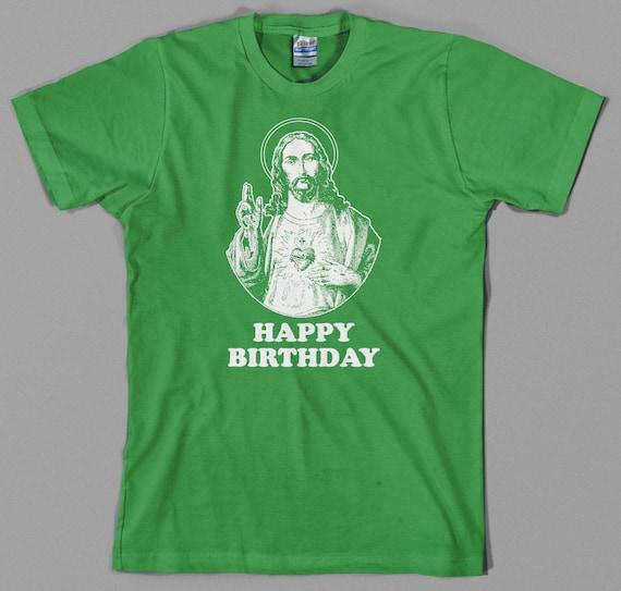 Jesus Happy Birthday T Shirt Christmas Gift Holidays